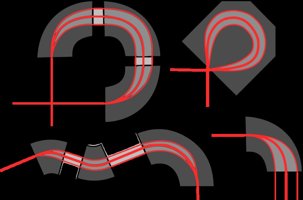 Umlenkmagnete (bending magnets)