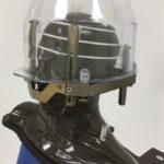Gamma-Knife Alderson-Phantom mit Aufsatz zur Kollisionsprüfung