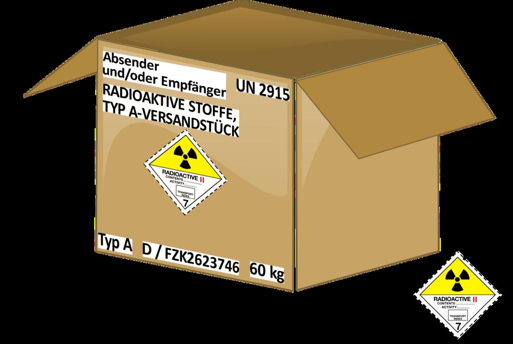 TYP-A-Versandstück